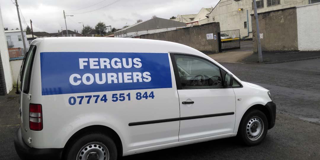 Fergus Couriers Van