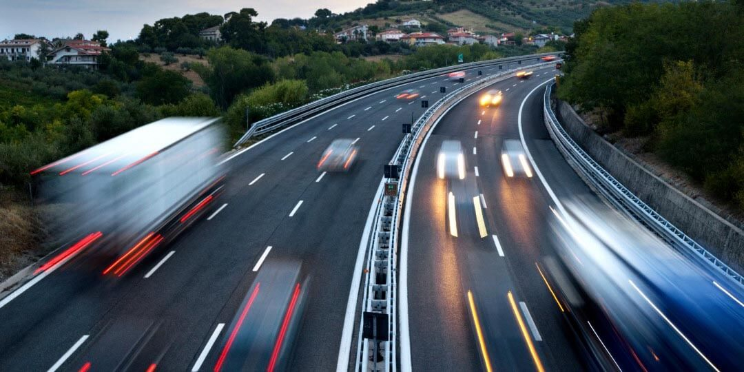 Fergus Couriers Motorway